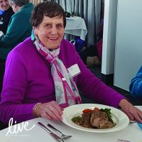Live Clarence - I CAN - Eating with Friends Ethel-
